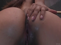 Sporty latin sexpot crystal lopez is riding and facesitting her fuckmate