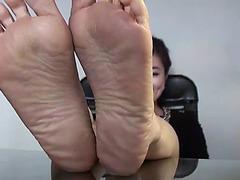 Oriental blue toes