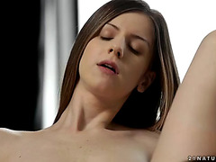 Supplementary breasty stella cox milks dong with her small feet