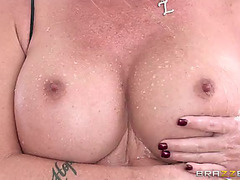 Curvaceous mother i'd like to fuck delivers an endearing oral stimulation then acquires a-hole screwed hardcore