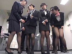 Finest of japanese schoolgirls are willing for some sloppy 10-Pounder engulfing