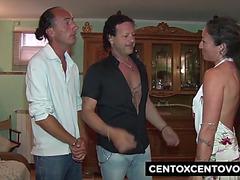Daniela di ladispoli e la cicciona!threatening orgia e double penetration!threatening centoxcento