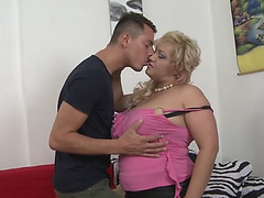 Breasty natural mama pilar enticed by obscene son