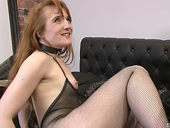 Sabrina jay is a hawt ginger honey willing for a hunk's prick