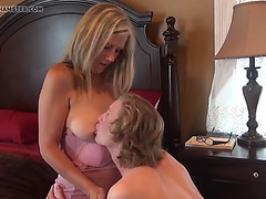 Mamma lesson in sex