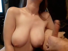 Hawt large bra buddies hotty can't live without deepthroat large penis fellatio