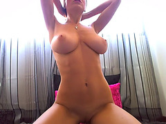 Beautiful latin chick next door