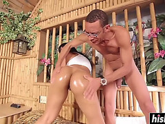 Rose monroe can't live without a lengthy meat pole