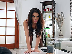 Valentina nappi is the nasty maid dusting for dick