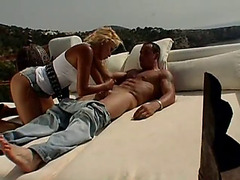 Victoria lanz double penetration outdoors