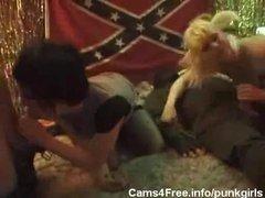 EMO Redneck Punk Teen Orgy!