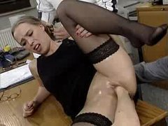 German Teen Fisted
