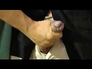 Porno Video of Hand Job Cumshot In Public Bathroom Set Up Nice Cs