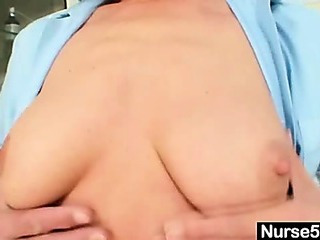 Porn Tube of Redhead Grandma Linda Hairy Pussy Close Ups