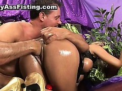 Filthy whore asss riding cock and gets
