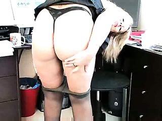 Porn Tube of Secretary Sandy