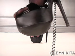High heels fetish