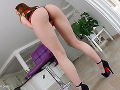 Olivia grace unfathomable anal hardcore gonzo scene by butt traffic
