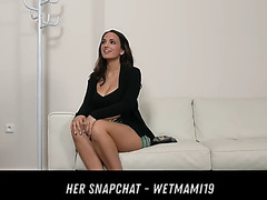 Tattooed spanish honey casting her snapchat menacing-fearsome wetmami19 add