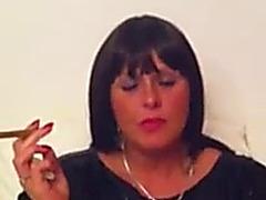 Alexia,fearsome cigar inhale