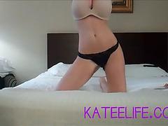 Katee teasing