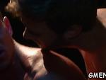 Homo hunks have sex massive