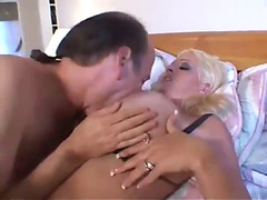 Hawt breasty blond cougar screwed hard