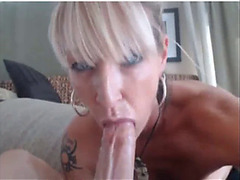 Concupiscent golden-haired mother i'd like to fuck receives cunt drilled on webcam-part2 on webgirlsoncam.com