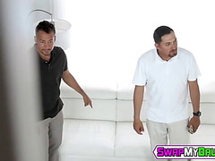 Teenies marilyn mansion and victoria vargaz group-fucked by stepdads