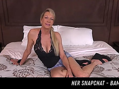Large tits dilettante cougar receive fuck her snapchat menacing-menacing bambi18xx