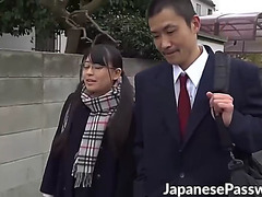 Hawt japanese legal age teenager airi sato engulfing on teachers large schlong