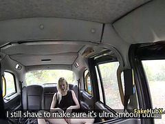 Mother I'd Like To Fuck drilled constricted arse in taxi