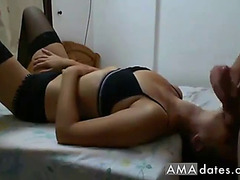 Wife face down engulfing