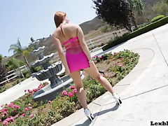 Redhead rose red can't live without engulfing lexington steele biggest wang