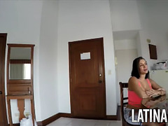 Columbian call sweetheart filmed by client