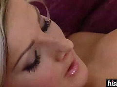 Golden-Haired honey craves a priceless hard dong
