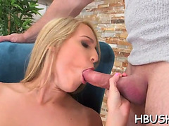 Breasty honey acquires taken for a ride