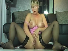 Non-Professional golden-haired mother i'd like to fuck squirting