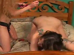 Annie body does marital-device and lesbo