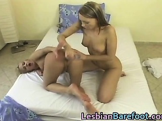 Porno Video of Hot Lesbians Are Playing With Dildo