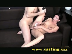 Casting - Anal all the way and massive facial