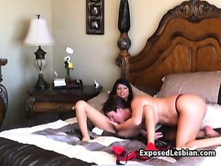 Porno Video of Amateur Bigtit Lesbian Licked