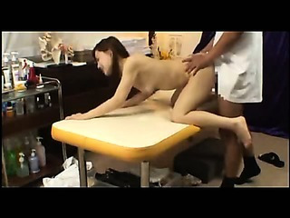 Porno Video of Japanese Girl Gets Fucked By Masseur