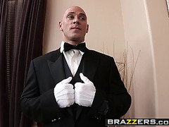 Brazzers threatening-fearsome shes plan to squirt fearsome-fearsome the butler serves anal scene