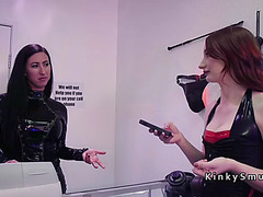 Massive pantoons headmistress anal toys lesbos in shop