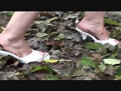 Slimy heels fetish