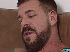 Euro twink anal sex and jizz flow