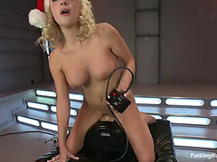 Spending christmas on the sybian