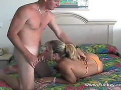 Ideal mangos sexy blond soccer mommy drilled &fearsome jizzed on a-hole