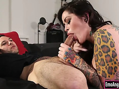 Pornstar newbie juliana rose rammed hard by naughty man
